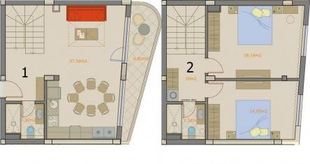 Apartament tip maisonette Burgas