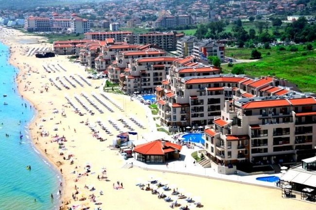 Apartament in absoluta prima linie la mare in Obzor