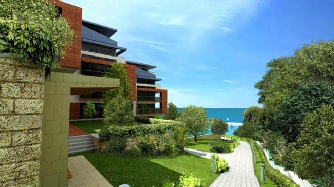 Teren cu proiect investitional in prima linie la mare in Byala