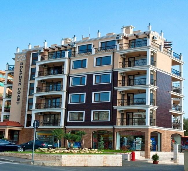 Apartamente complet mobilate situate langa plaja in Sunny Beach