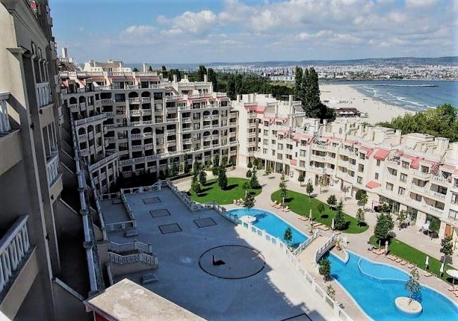 Apartamente de lux in prima linie la plaja in Varna