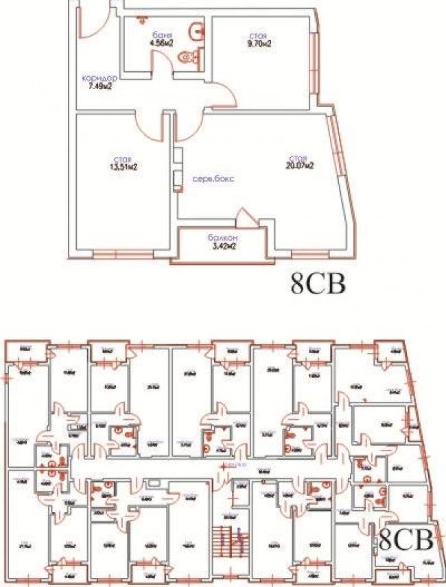 Apartament cu doua dormitoare aproape de Varna