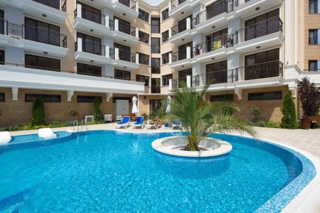Apartamente in partea centrala a statiunii Sunny Beach