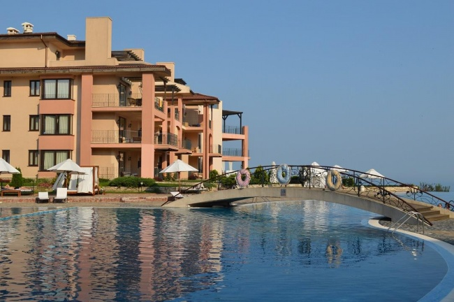 Apartament cu trei camere in complex Kaliakria langa Balchik