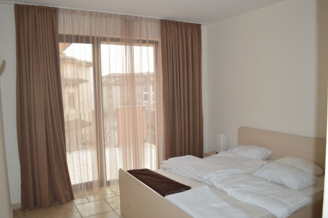 Apartament mobilat cu doua camere in complex Kaliakria langa Balchik