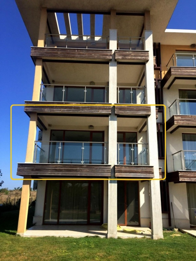Apartament spatios cu 2 camere la mare