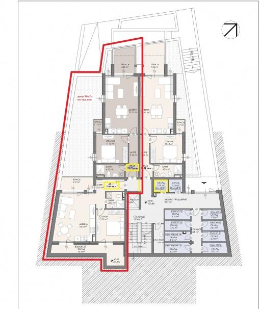 Apartament cu 3 dormitoare si vedere la mare in Sozopol