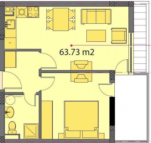 Apartament langa plaja in Ravda