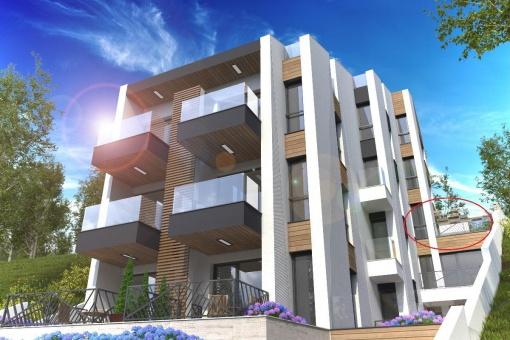 Studio cu terasa panoramica in Sozopol