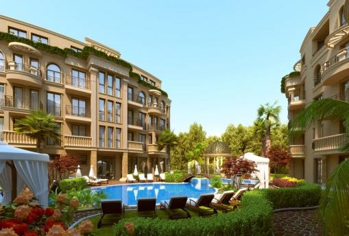 Apartament cu doua dormitoare intr-un complex nou in Sunny Beach
